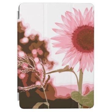 Elegant Peach Sunflower Artwork   iPad Air Case