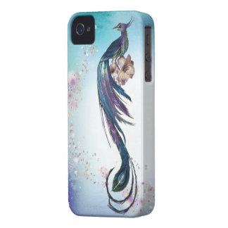 Elegant Peacock Fantasy Art iPhone 4 Covers