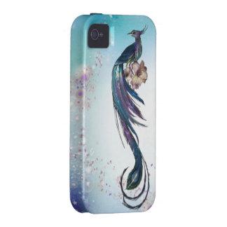 Elegant Peacock Fantasy Art Case-Mate iPhone 4 Covers