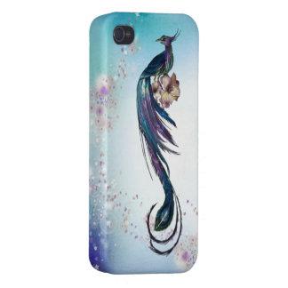 Elegant Peacock Fantasy Art iPhone 4/4S Cover