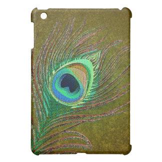 Elegant peacock feather green  case for the iPad mini