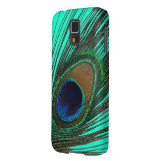 Elegant Peacock Feather Samsung Galaxy Case
