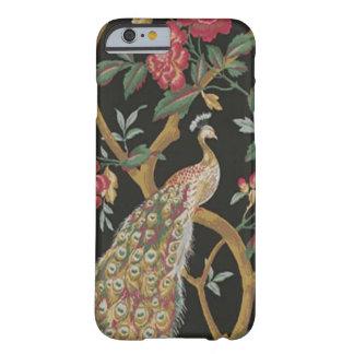 Elegant Peacock On Black iPhone 6 Case