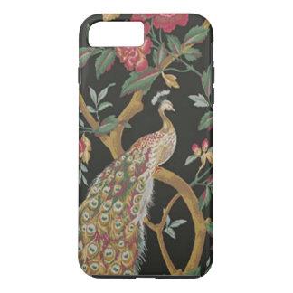Elegant Peacock On Black iPhone 7 Case