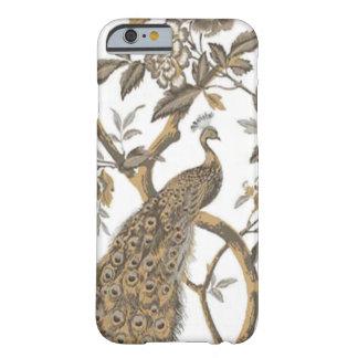 Elegant Peacock On White iPhone 6 Case
