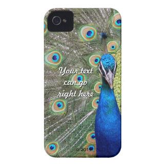 Elegant Peacock Photograph Case-Mate iPhone 4 Case