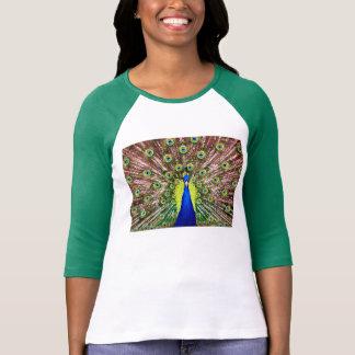 Elegant Peacock T-Shirt
