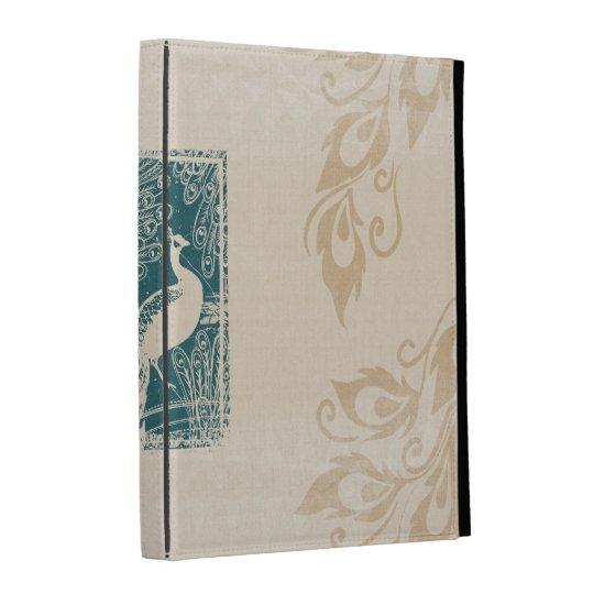 Elegant Peacocks iPad Folio Cover