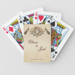 Elegant Peacocks Playing Cards