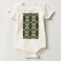 Elegant  Pearl Flowers CHERRY HILL NJ nvn214 JOSHI Baby Bodysuit