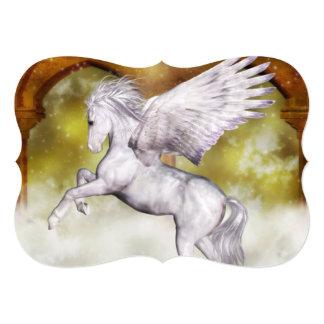 Elegant Pegasus 5x7 Paper Invitation Card
