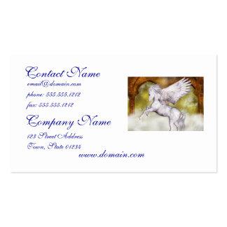 Elegant Pegasus Business Cards