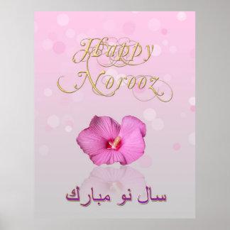 Elegant Persian New Year Bloom - Poster
