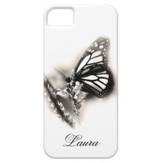 Elegant Personalized Butterfly iPhone 5 Case