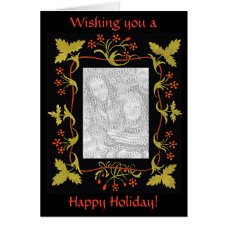 Elegant Personalized Christmas Card