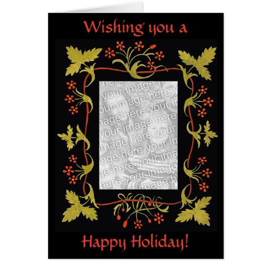 Elegant Personalized Christmas Card