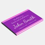 [ Thumbnail: Elegant, Personalized Memorial Guestbook ]