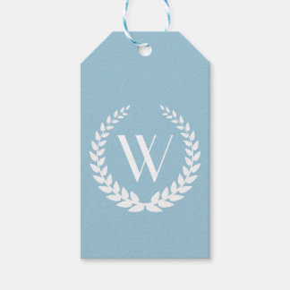 Elegant Personalized Monogram Gift Tags