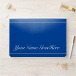 [ Thumbnail: Elegant Personalized Script Style Name On Blue ]