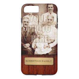 Elegant Photo Name Template iPhone 8 Plus/7 Plus Case