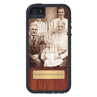 Elegant Photo Name Template iPhone SE/5/5s Case