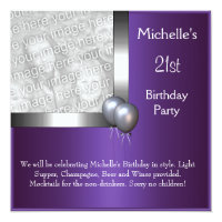 balloon birthday invitations zazzle