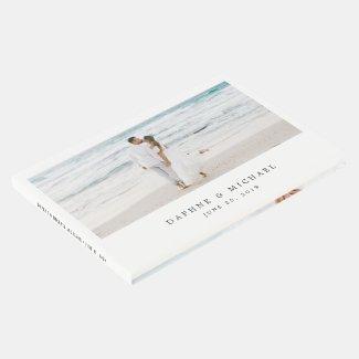 Elegant Photo Wedding Guest Book