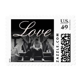 Elegant Photo Wedding Postage