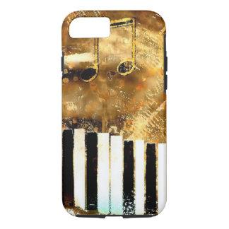 Elegant Piano Music & Notes iPhone 8/7 Case