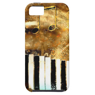 Elegant Piano Music & Notes iPhone SE/5/5s Case