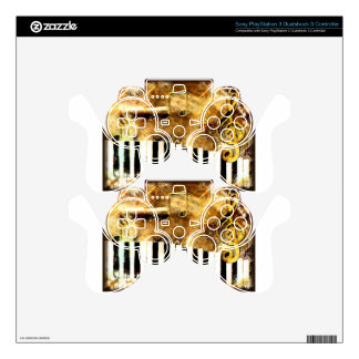 Elegant Piano Music & Notes PS3 Controller Decals