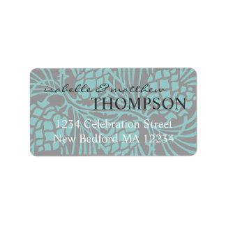 Elegant Pine Address Label