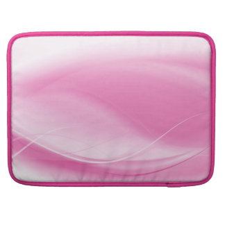 Elegant pink abstract Design Sleeve For MacBook Pro