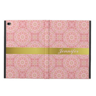 Elegant Pink and Gold iPad Air 2 Case