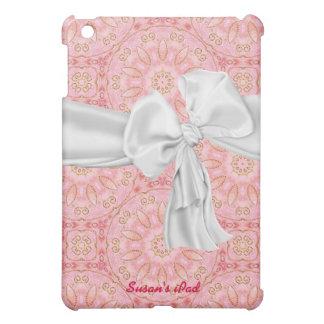 Elegant Pink and Gold iPad Mini Case