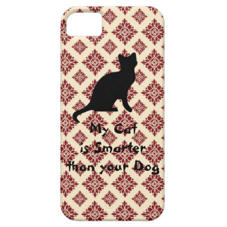 Elegant Pink and Maroon Pattern iPhone 5 Case