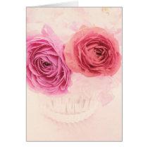 Elegant pink bouquet and pink Ranunculus