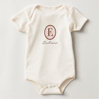 Elegant Pink & Brown Monogram E shirt