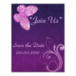 """""""Elegant Pink Butterfly"""" Beautiful Expressions Card"""