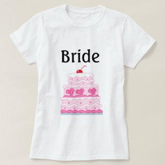 Elegant Pink Cake T-Shirt
