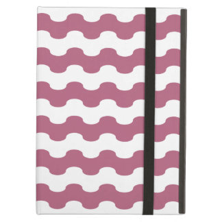 Elegant pink Cover iPad of strips in zigzag Cover For iPad Air
