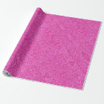 Elegant Pink Glitter Glamour Template Modern Wrapping Paper