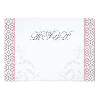 Elegant Pink &amp; Gray Garden Wedding Invitations (<em>$2.17</em>)