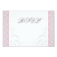 Elegant Pink &amp; Gray Garden Wedding Invitations (<em>$2.23</em>)