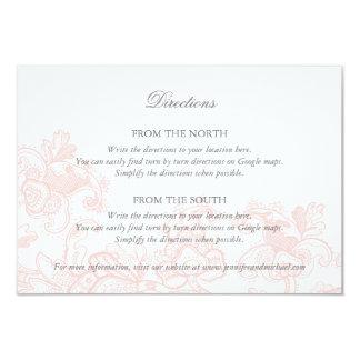Wedding Direction Card Templates