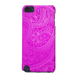 Elegant pink Paisley Pattern iPod Touch 5G Cover