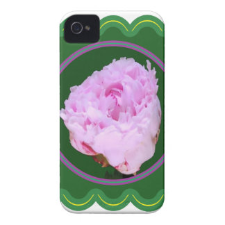Elegant Pink Rose Flower Floral print on 100 gifts Case-Mate iPhone 4 Case