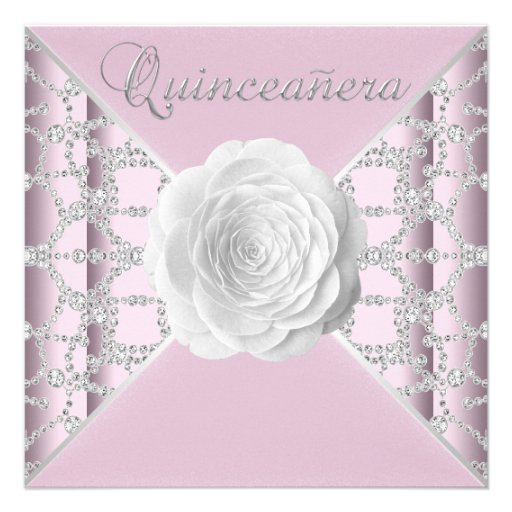 Elegant Quinceanera Invitations can inspire you to create best invitation template
