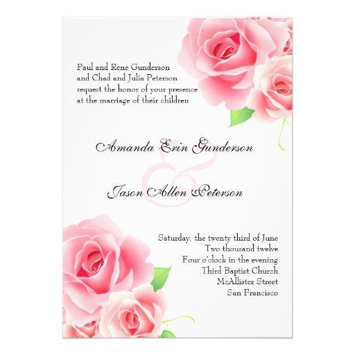 Wedding Pocket Invites is perfect invitations layout