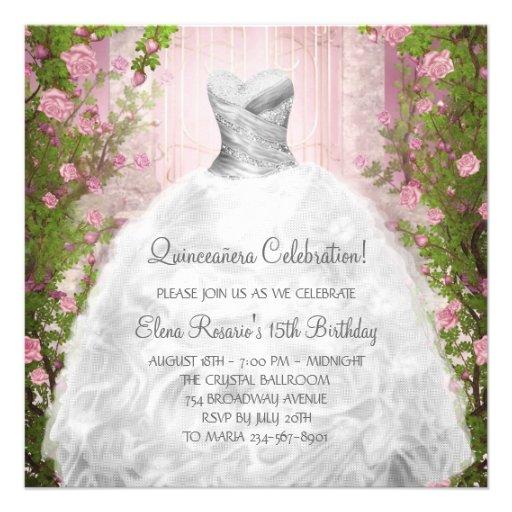 quineanera invitations
